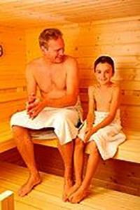 Русская баня для всей семьи.