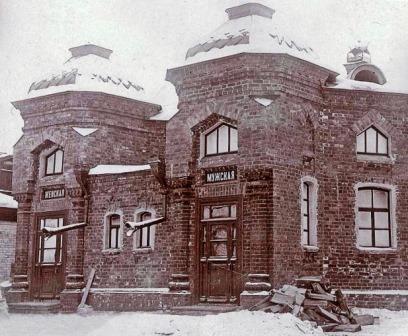 История общественных бань Красноярска