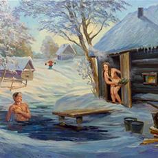 Почему на Руси запретили общие бани.