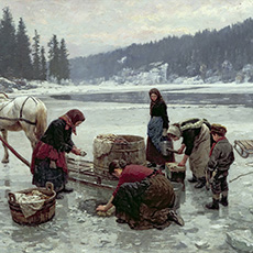 История стирки: первые стиральные машины.